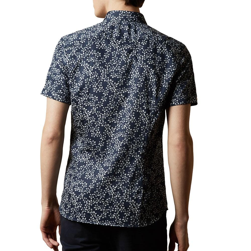 YEPYEP SS Floral Print Shirt main image