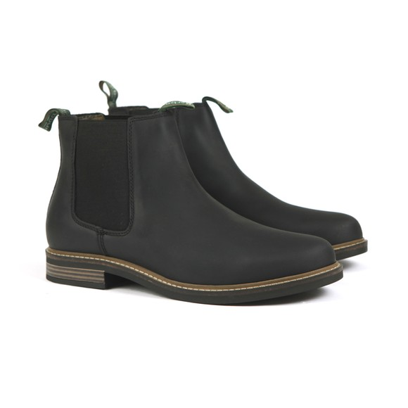 Barbour Lifestyle Mens Black Farsley Chelsea Boot