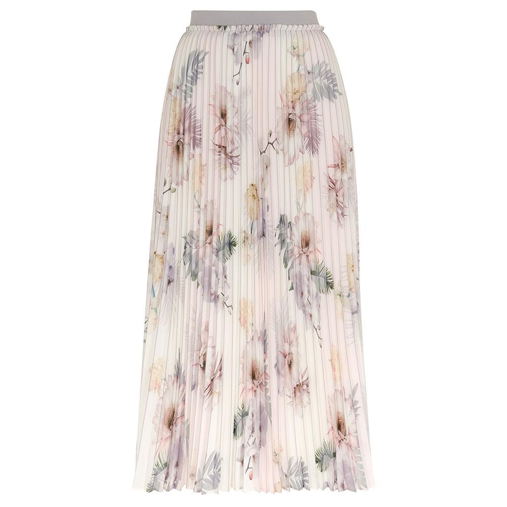 Maziiy Woodland Pleated Skirt