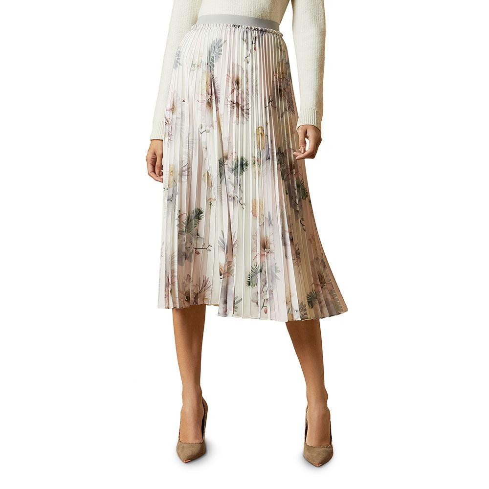 Maziiy Woodland Pleated Skirt main image