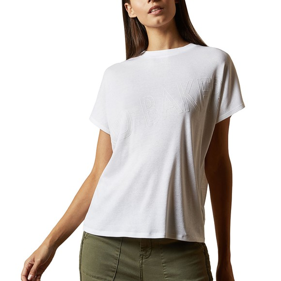 Ted Baker Womens White Laali Branded Top main image