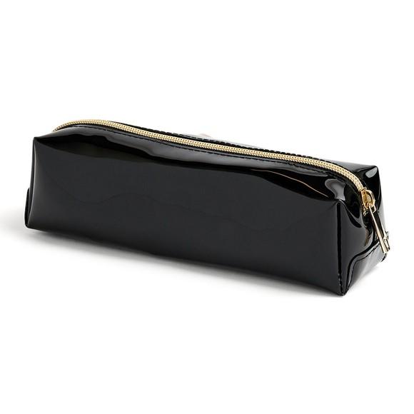 Ted Baker Womens Black Franai Bow Detail Make Up Bag main image