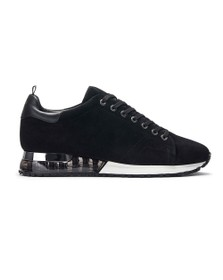 Mallet Mens Black Suede Tech Racer