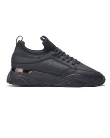 Mallet Mens Black Dalston Trainer