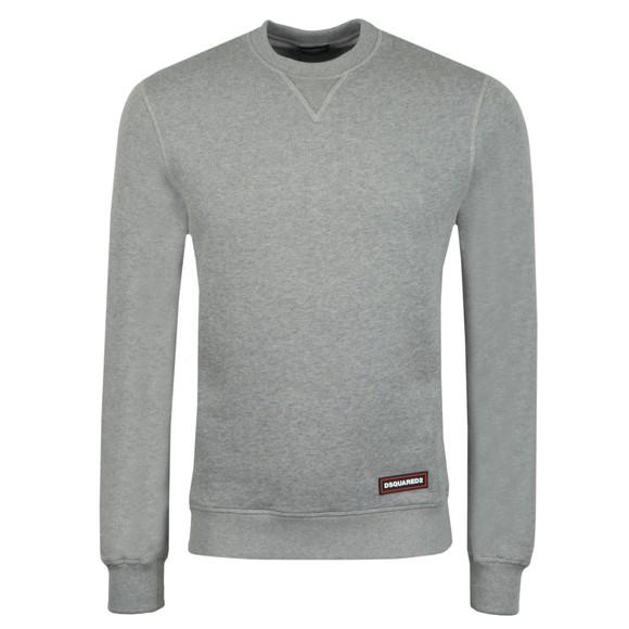 Dsquared2 Mens Grey Hip Logo Sweatshirt