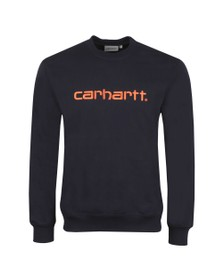Carhartt WIP Mens Blue Sweatshirt