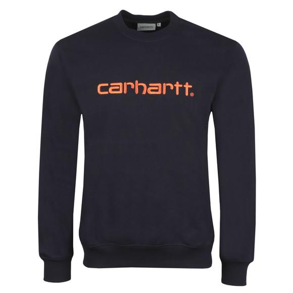Carhartt WIP Mens Blue Sweatshirt main image