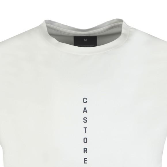 Castore Mens Off-White Logo T-Shirt main image