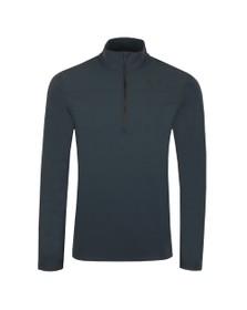 Castore Mens Grey Half Zip Sweatshirt