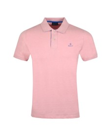 Gant Mens Pink Contrast Collar Rugger