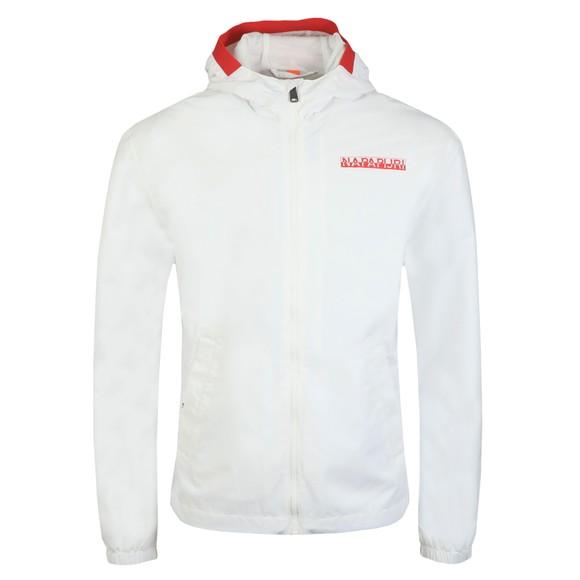 Napapijri Mens White Aper Jacket