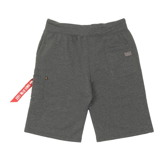 Alpha Industries Mens Grey X Fit Sweat Short main image