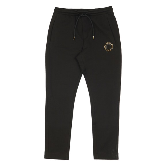 BOSS Mens Black Halboa Circle Jogger