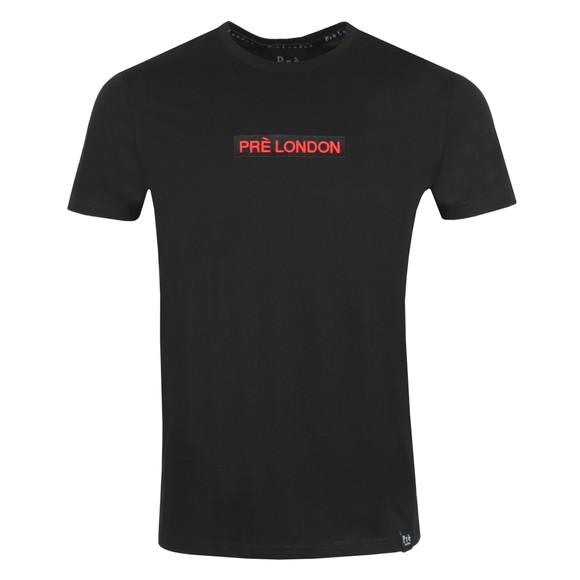Pre London Mens Black Eaval T-Shirt main image
