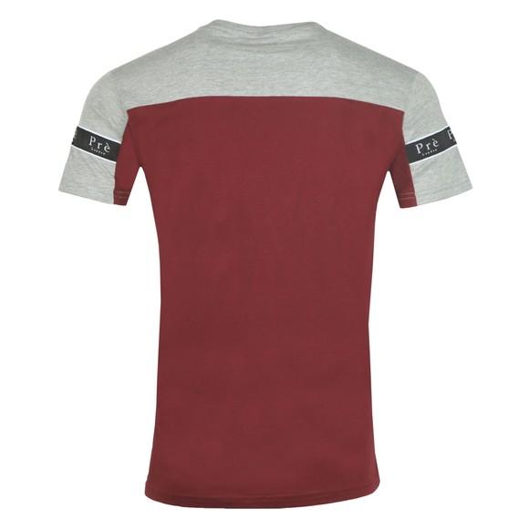 Pre London Mens Port/Grey Eclipse T Shirt main image