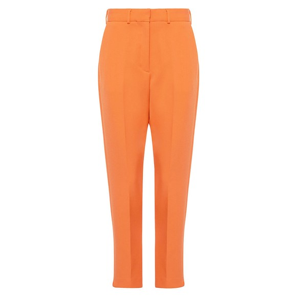 French Connection Womens Orange Adisa Sundae Suiting Tailored Trouser main image