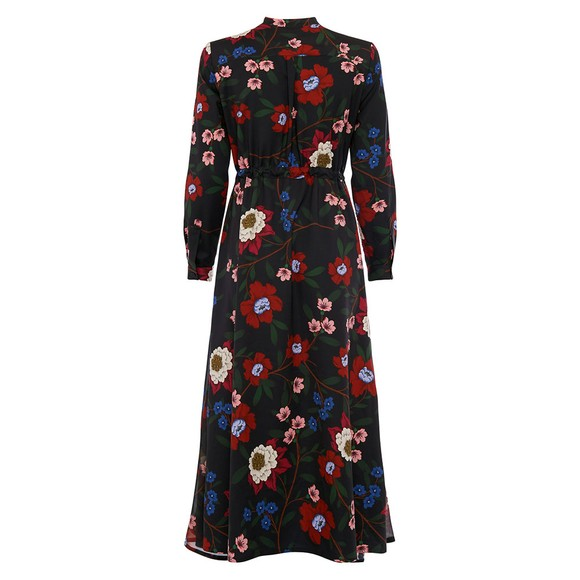 French Connection Womens Blue Eloise Drape Midi Dress main image