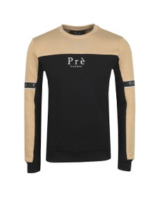 Pre London Mens Stone/Black Eclipse Sweatshirt