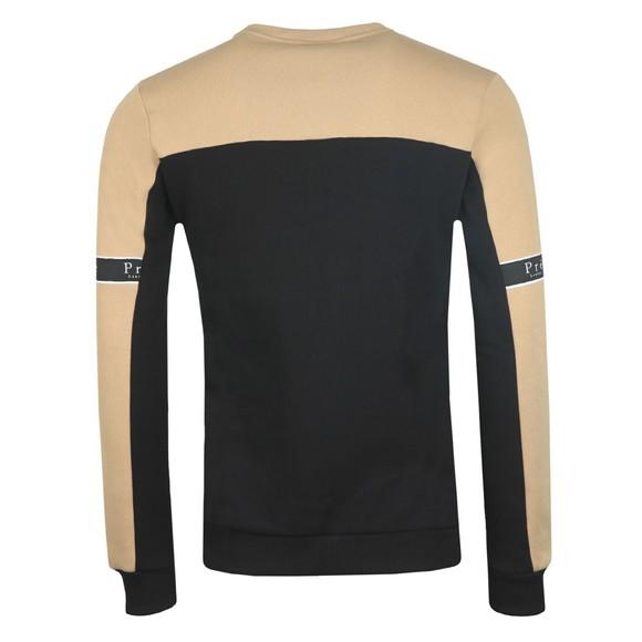 Pre London Mens Stone/Black Eclipse Sweatshirt main image