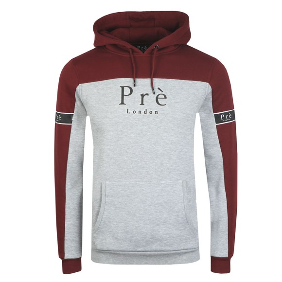 Pre London Mens Red Eclipse Hoodie main image