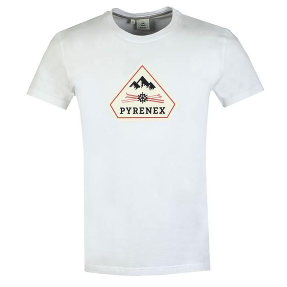 Pyrenex Mens White Karel T-Shirt