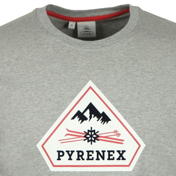 Pyrenex Mens Grey Karel T-Shirt main image