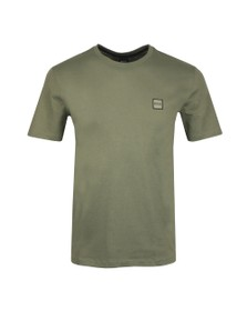 BOSS Mens Green Casual Tales T Shirt