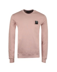 Ma.Strum Mens Pink Training Crew Sweatshirt