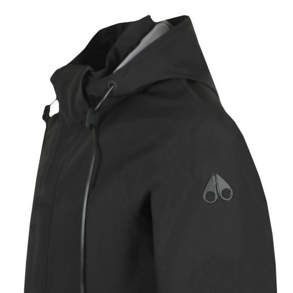 Moose Knuckles Mens Black Lead Rider Light Jacket main image
