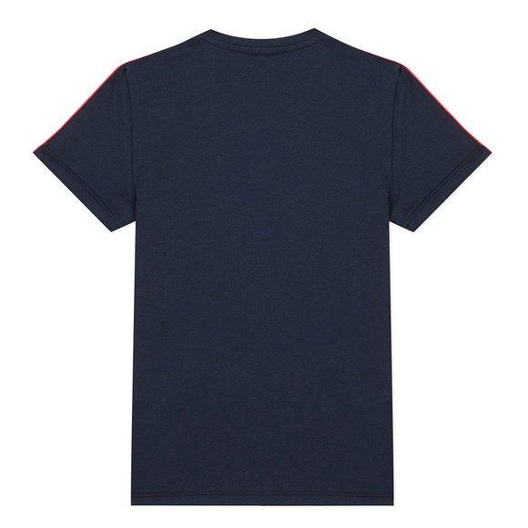 Paul Smith Junior Boys Blue Aaron Shoulder Detail T-Shirt