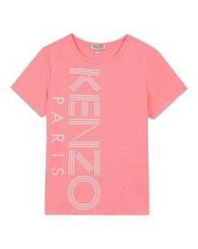 Kenzo Kids Girls Pink Sport Line Side Logo T-Shirt