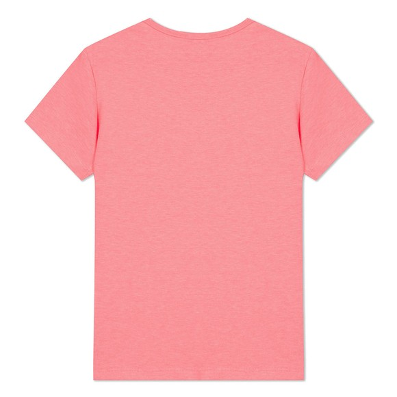 Kenzo Kids Girls Pink Sport Line Side Logo T-Shirt