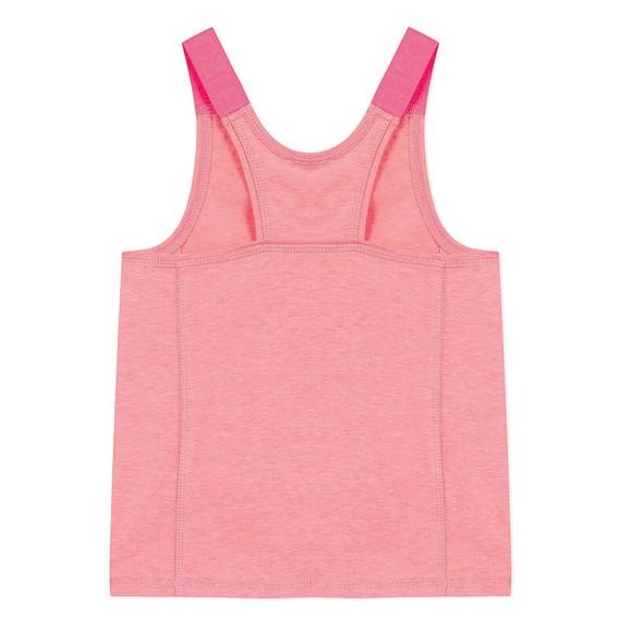 Kenzo Kids Girls Pink Sport Line Logo Vest