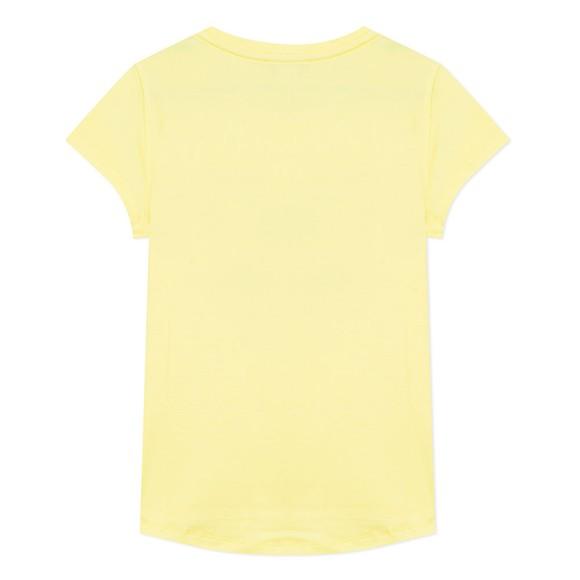 Kenzo Kids Girls Yellow Tiger JG T-Shirt