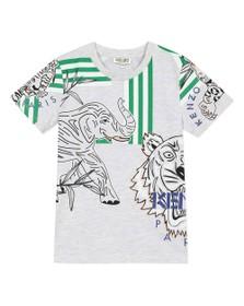 Kenzo Kids Girls Grey Disco Jungle Jacob T-Shirt