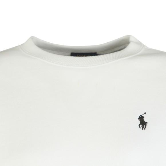 Polo Ralph Lauren Womens White Relaxed Rainbow Sweatshirt main image