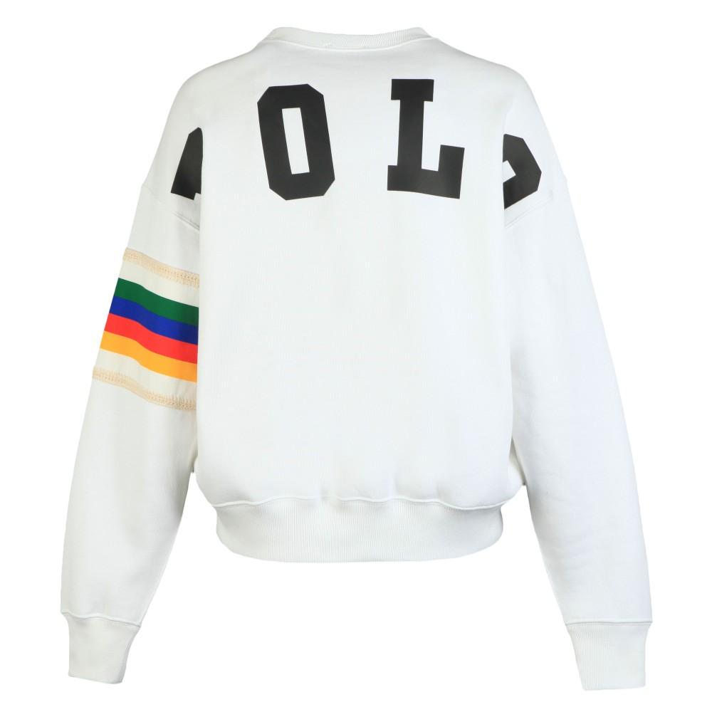 Relaxed Rainbow Sweatshirt main image