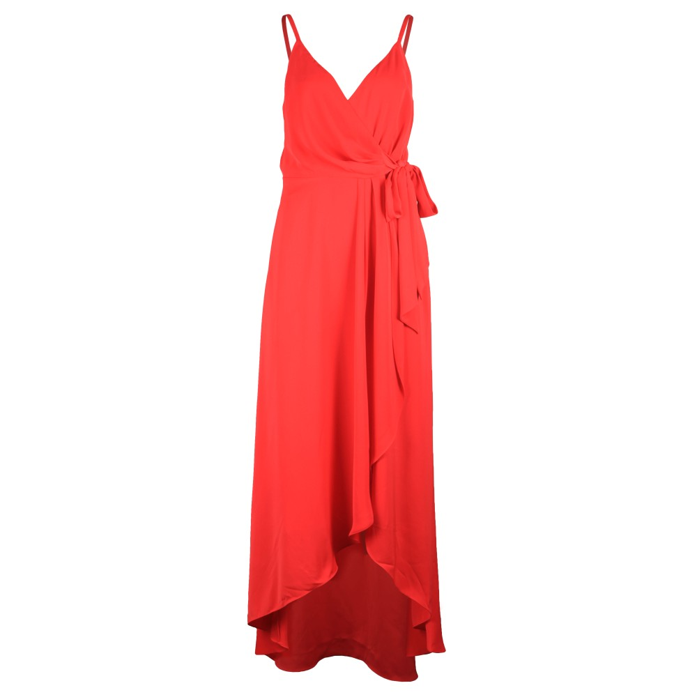 Leaanah Dipped Hem Wrap Maxi Dress main image
