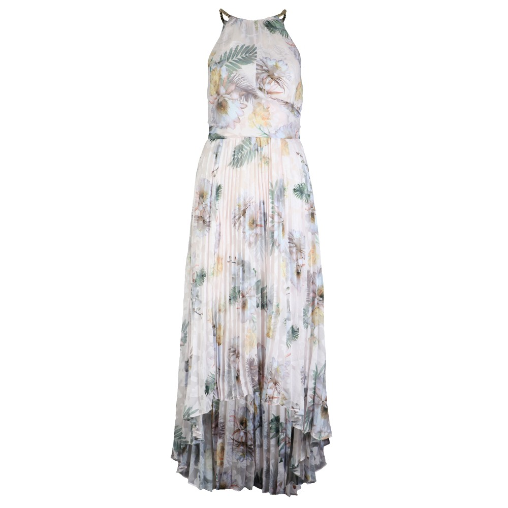 Daniiey Woodland Pleated Maxi Dress main image