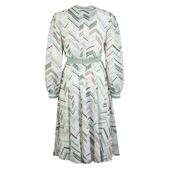 Ted Baker Womens White Katino Everglade Long Sleeve Midi Dress main image