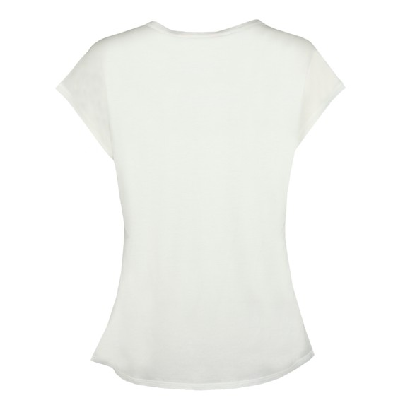 Ted Baker Womens Off-White Kcarmaa Woodland Woven Front Top main image