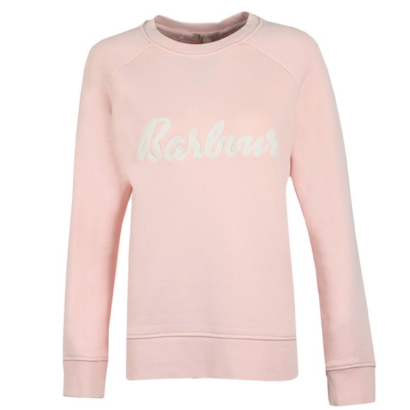 Barbour Lifestyle Womens Pink Otterburn Sweatshirt