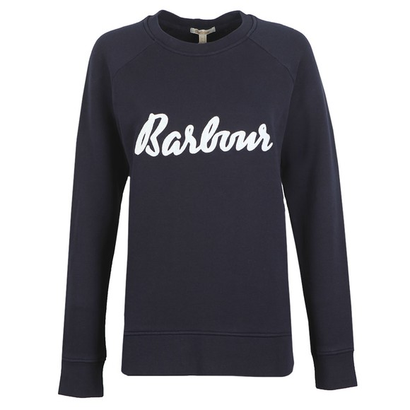 Barbour Lifestyle Womens Blue Otterburn Sweatshirt