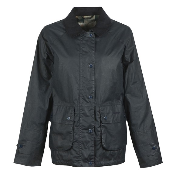 Barbour Lifestyle Womens Blue Robyn Wax Jacket main image