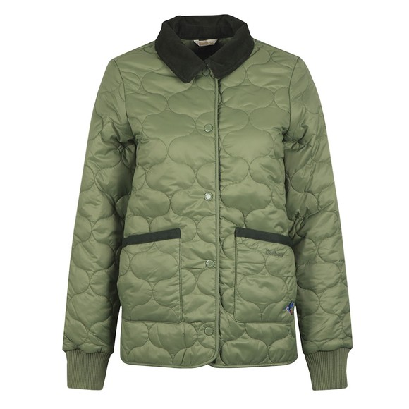 Barbour Lifestyle Womens Green Hallie Quilt