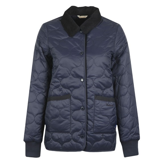 Barbour Lifestyle Womens Blue Hallie Quilt