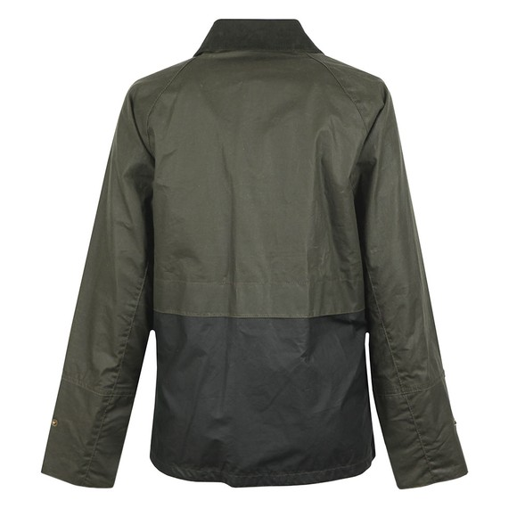 Barbour Lifestyle Womens Green Robyn Wax Jacket main image
