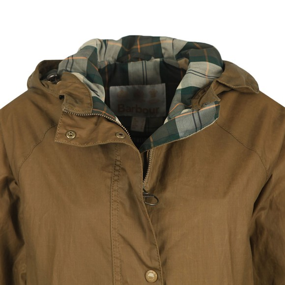 Barbour Lifestyle Womens Beige Maddison Wax Jacket