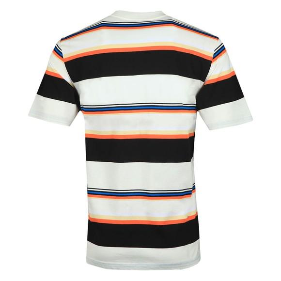Carhartt WIP Mens Off-White Sunder Stripe T Shirt main image