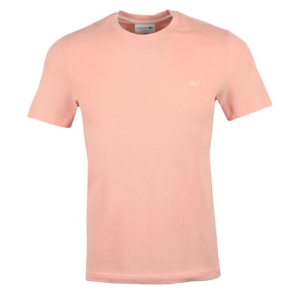 Lacoste Mens Pink TH4998 T-Shirt main image